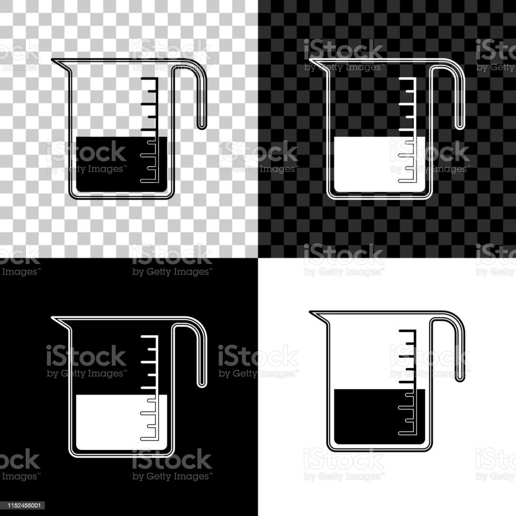 Measuring Cup To Measure Dry And Liquid Food Icon Isolated