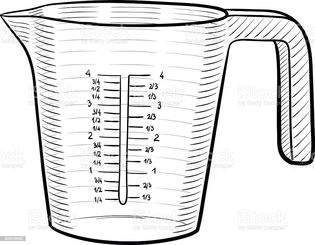 royalty free measuring cup clip art vector images illustrations rh istockphoto com free measuring cup clip art to print for free free measuring cup clip art to print for free