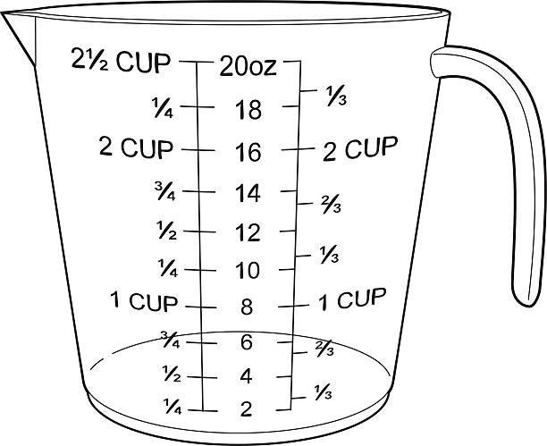 Royalty Free Measuring Cup Clip Art, Vector Images ...