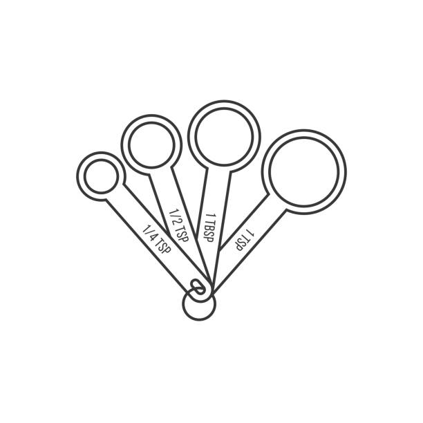 Best Tablespoon Illustrations, Royalty-Free Vector ...
