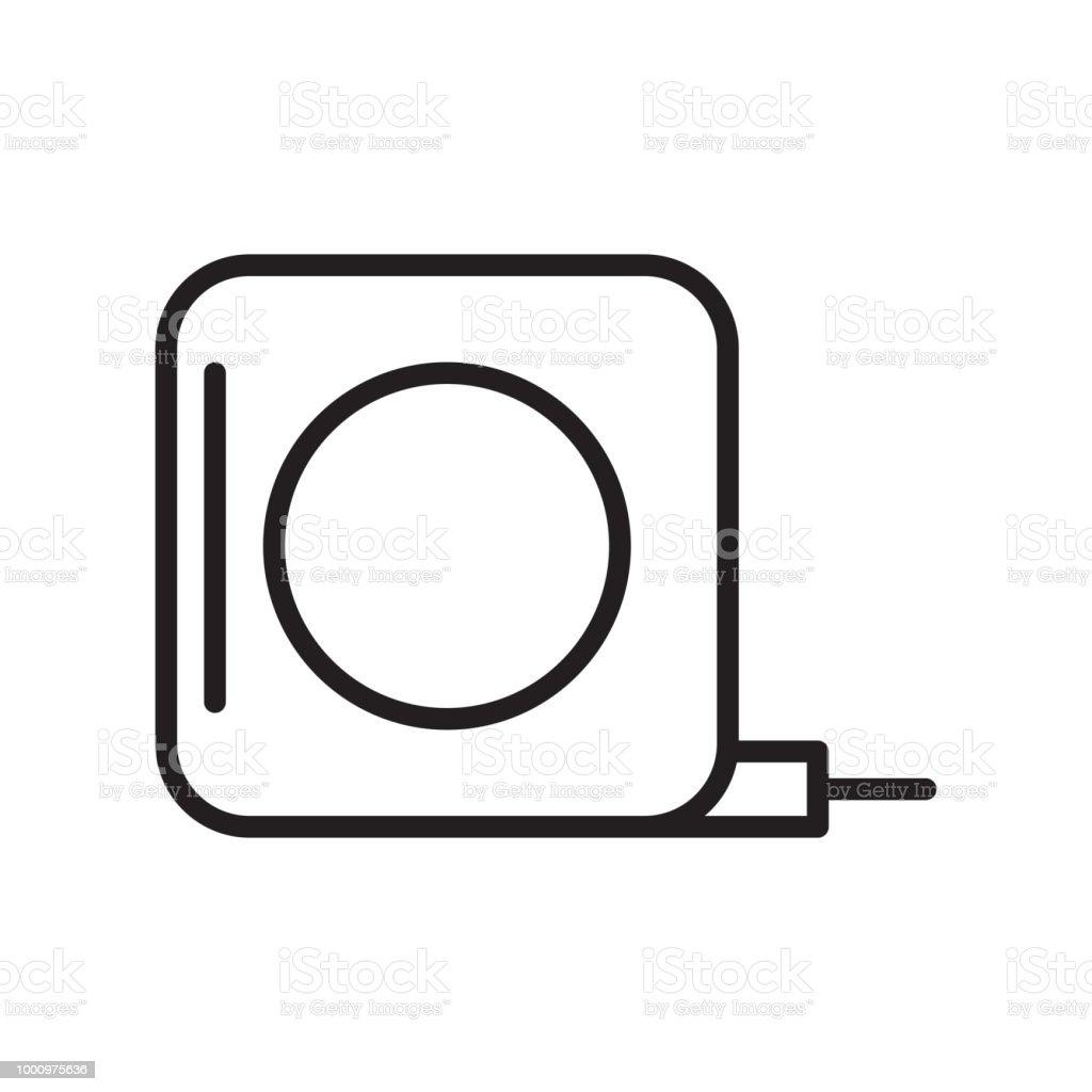 Prime Measuring Tape Symbol Vektor Zeichen Und Symbol Isoliert Auf Weissem Wiring Digital Resources Honesemecshebarightsorg