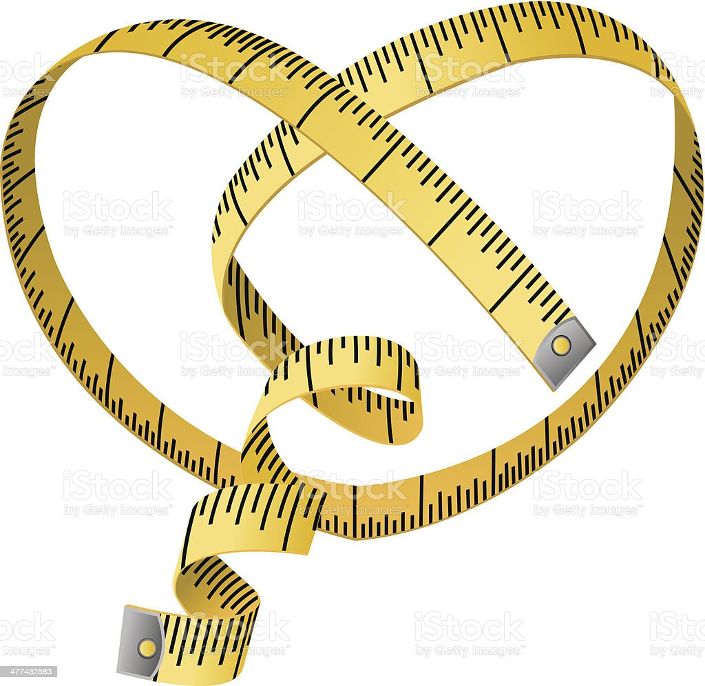 Measuring Tape Stock Vector Art & More Images of Cut Out ...