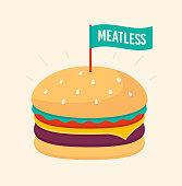istock Meatless Hamburger 1166847888