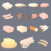 Meats & Cheese With Sub Roll