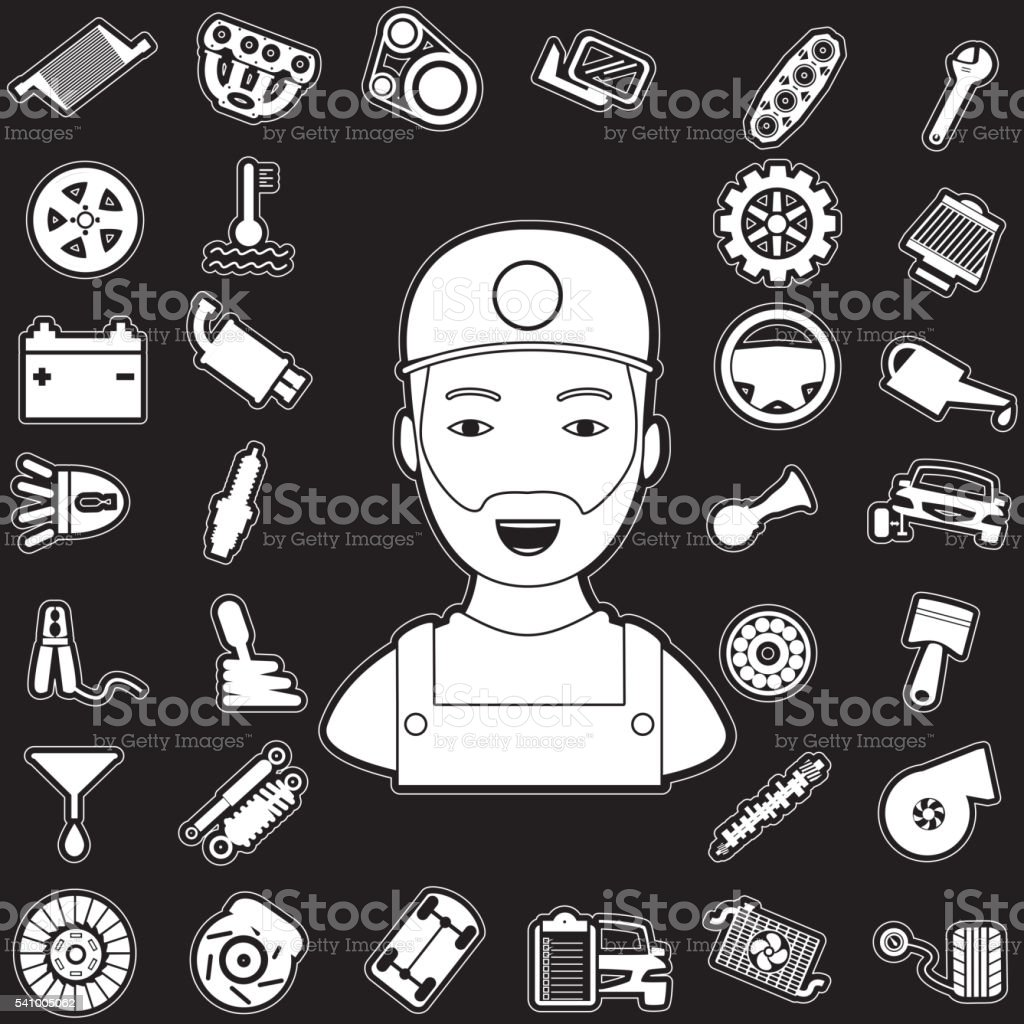 Mechanic and auto part