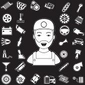 Mechanic and auto part