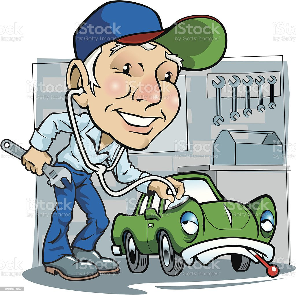 Mechanic Doctor royalty-free mechanic doctor stock vector art & more images of auto mechanic