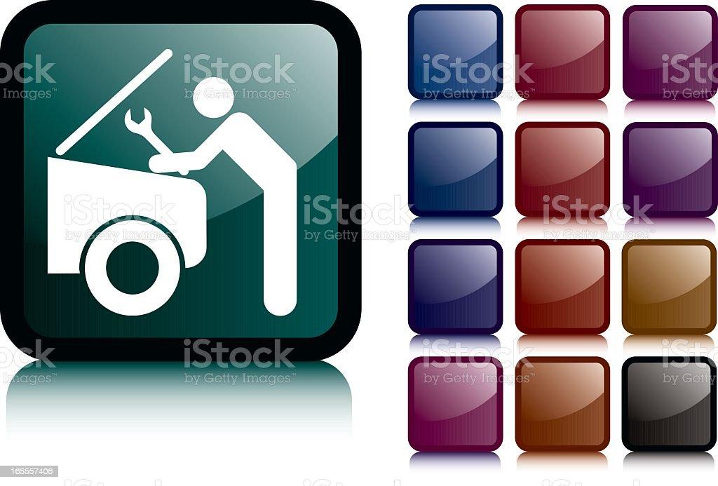 Mechanic Icon royalty-free stock vector art