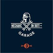 mechanic on duty, garage