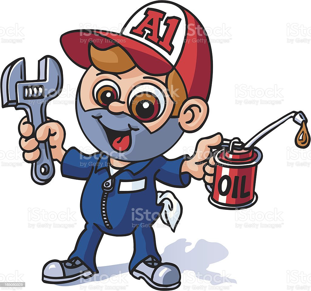 Mechanic royalty-free mechanic stock vector art & more images of adjustable wrench