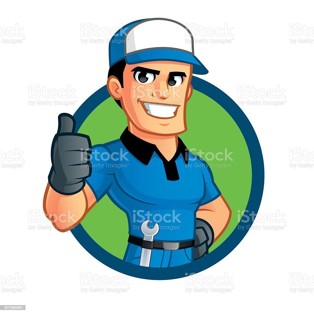 royalty free auto mechanic clip art vector images illustrations rh istockphoto com mechanic clipart mechanic clipart jpg