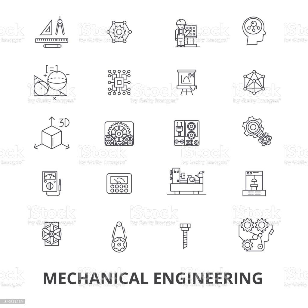 Mechanical Engineering Mechanic Electrical Gears Electronic Car