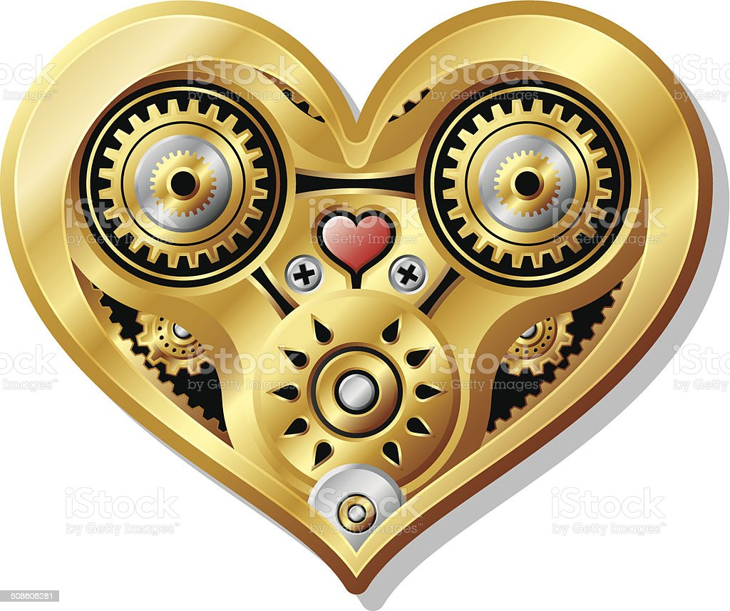 Mechanical Heart royalty-free mechanical heart stock vector art & more images of antique