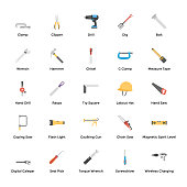 100 plumbing  tools icons pack, a technical and industrial set of flat vectors is hereby to represent various tools associated to plumbing, construction, and other household operations.it is worth holding this pack and utilize in related projects.