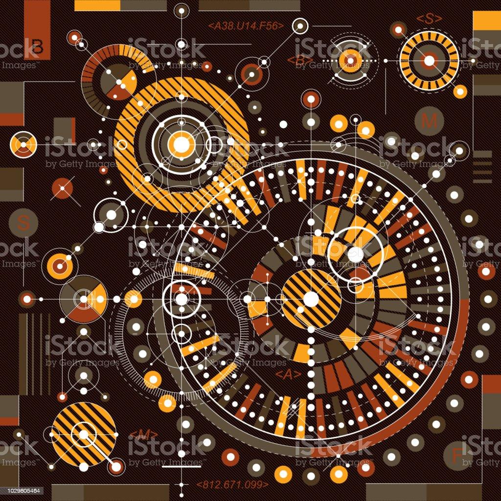 機械的方式ベクトル機構の幾何学的な部品と図面をエンジニア リングし
