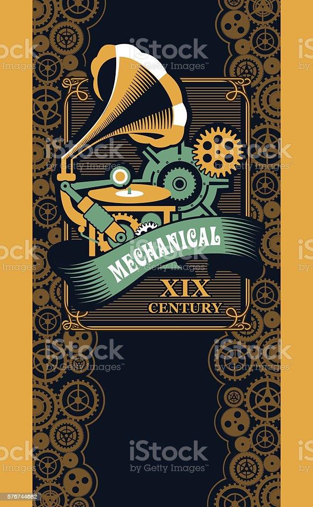Mechanische Dampfbad Punk Vektor Illustration 576744682 | iStock