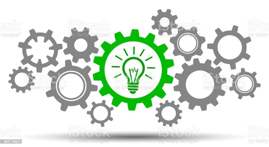 Mechanism generation business idea - stock vector royalty-free mechanism generation business idea stock vector stock illustration - download image now