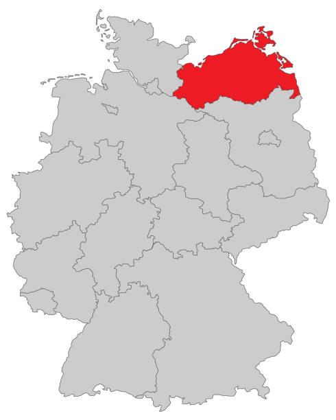 mecklenburg_vorpommern – Vektorgrafik