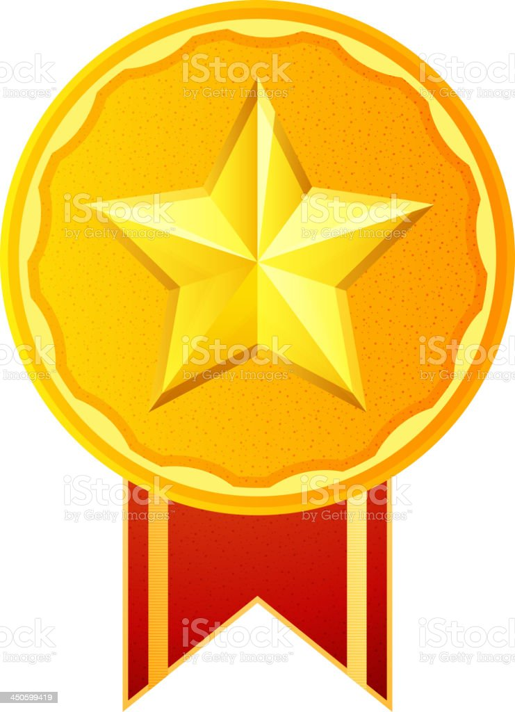Medal Badge royalty-free stock vector art