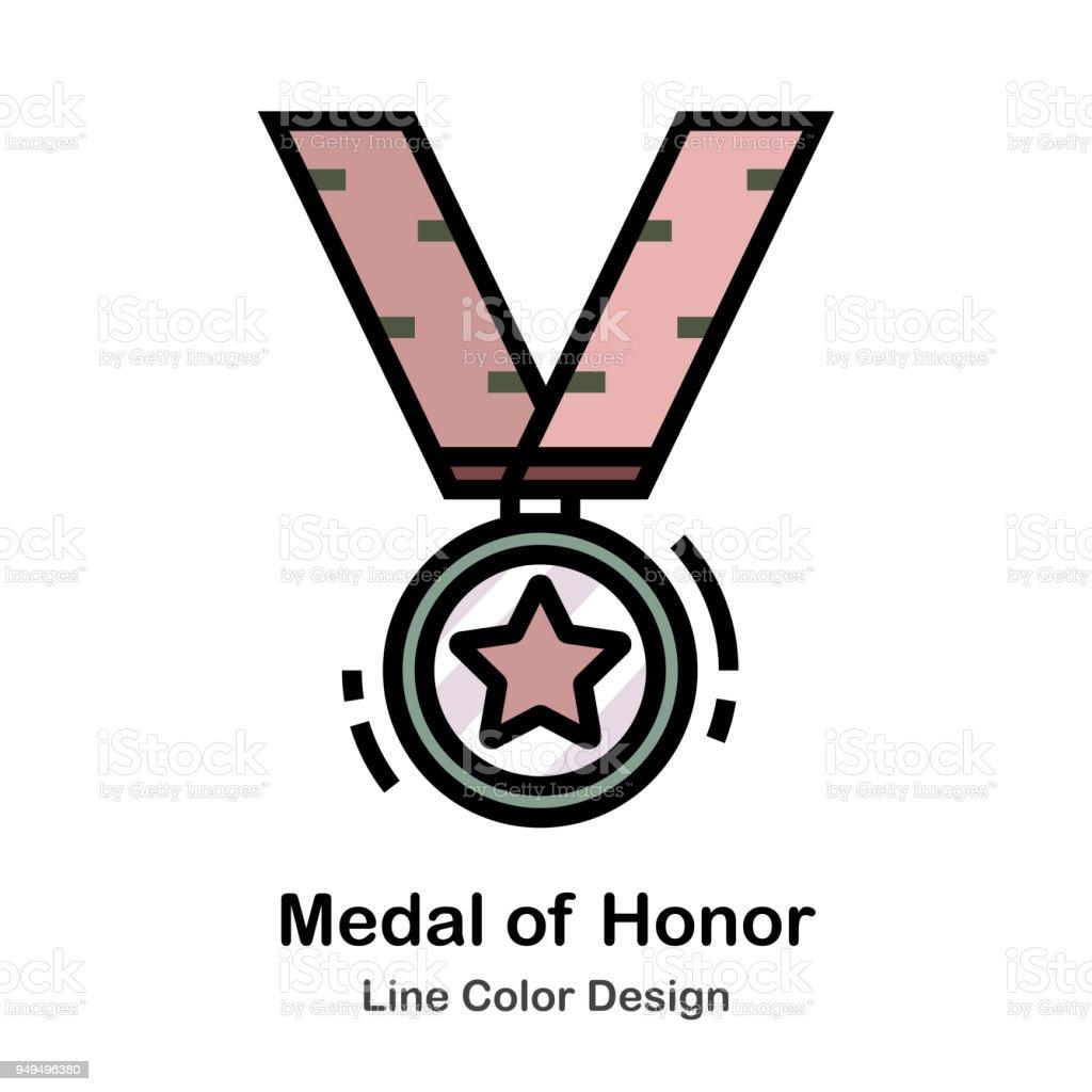 名誉勲章 - アイコンのベクター...