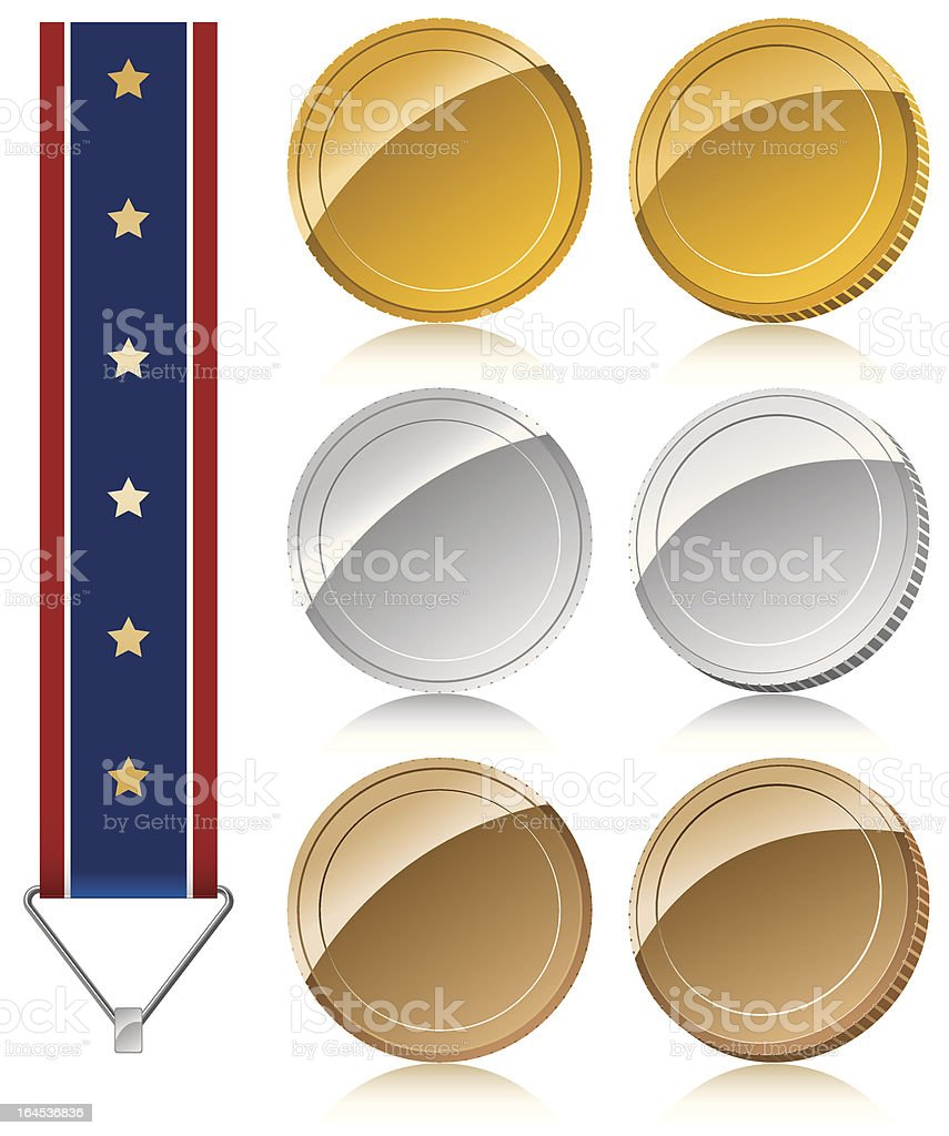 medal royalty-free medal stock vector art & more images of award