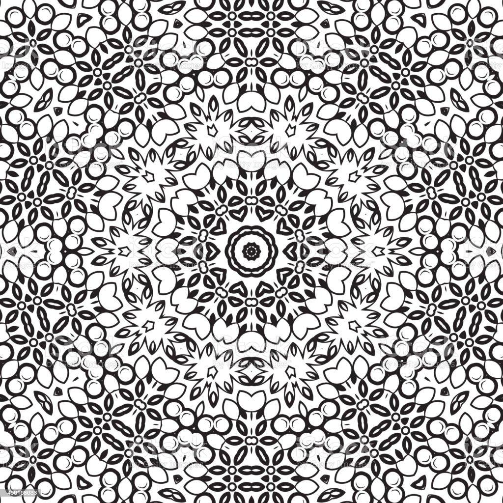 Medallion circular design. royalty-free stock vector art