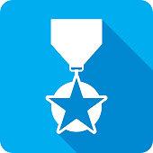 Medallion Icon Silhouette