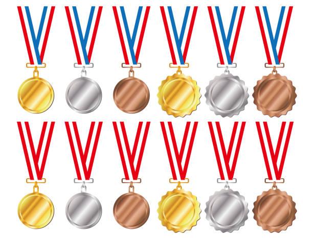 メダルと紐 ベクターアートイラスト