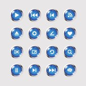 istock Media icons collection set 160431666