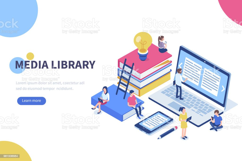media library royalty-free media library stock illustration - download image now