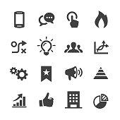 Media Marketing Icons - Acme Series