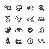 Media Marketing Icons