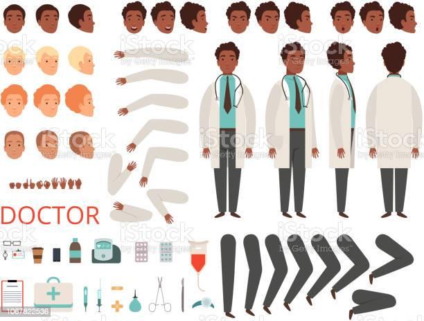 Medic animation doctor characters hospital medicine staff body parts vector id1067822536?b=1&k=6&m=1067822536&s=612x612&h=ju1on8vjiyv1rrzsxkoxqyhg5tiv9wf 4lix ymhfnm=