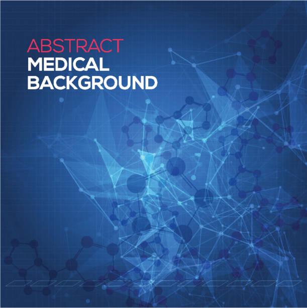 医療の抽象的な背景。抽象多角形スペース低ポリ暗い背景 - 医療機器点のイラスト素材/クリップアート素材/マンガ素材/アイコン素材