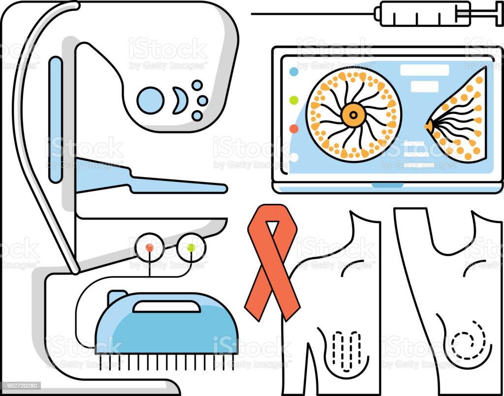 Medical aid concept vector art illustration