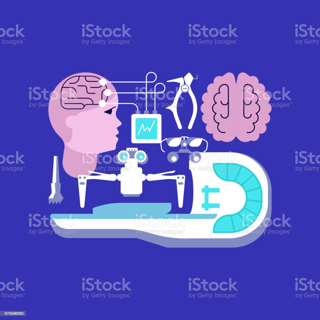 Medical ambulance icons vector art illustration