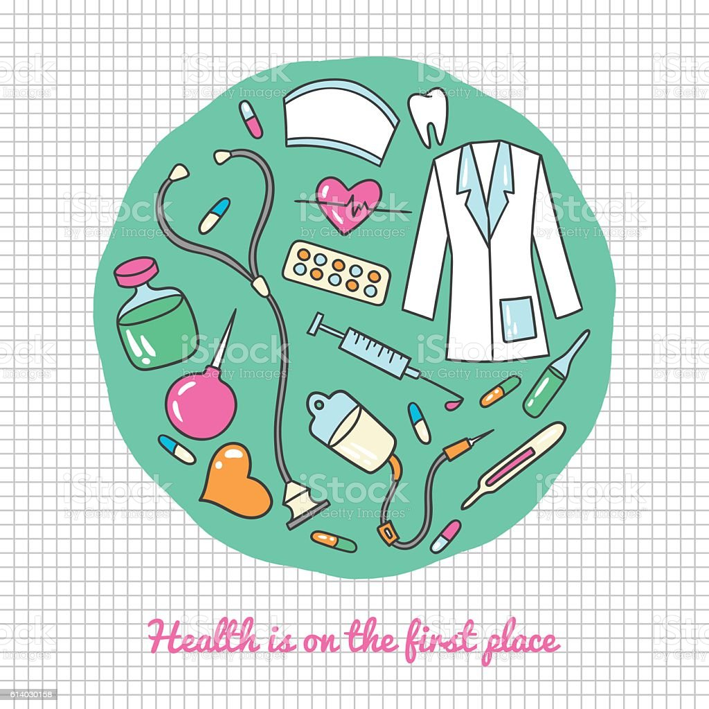 Medical and health care icons royalty-free medical and health care icons stock vector art & more images of blue