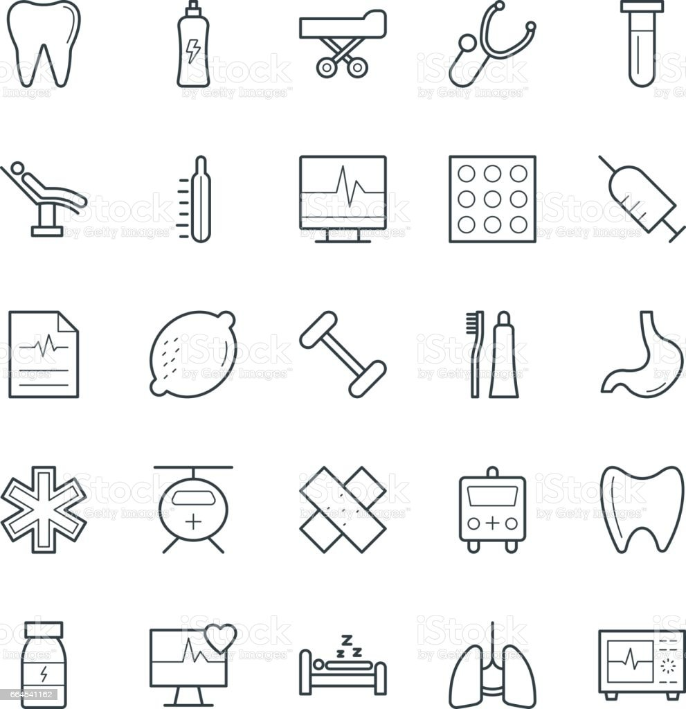 Medical and Health Cool Vector Icons 8 royalty-free medical and health cool vector icons 8 stock vector art & more images of ambulance