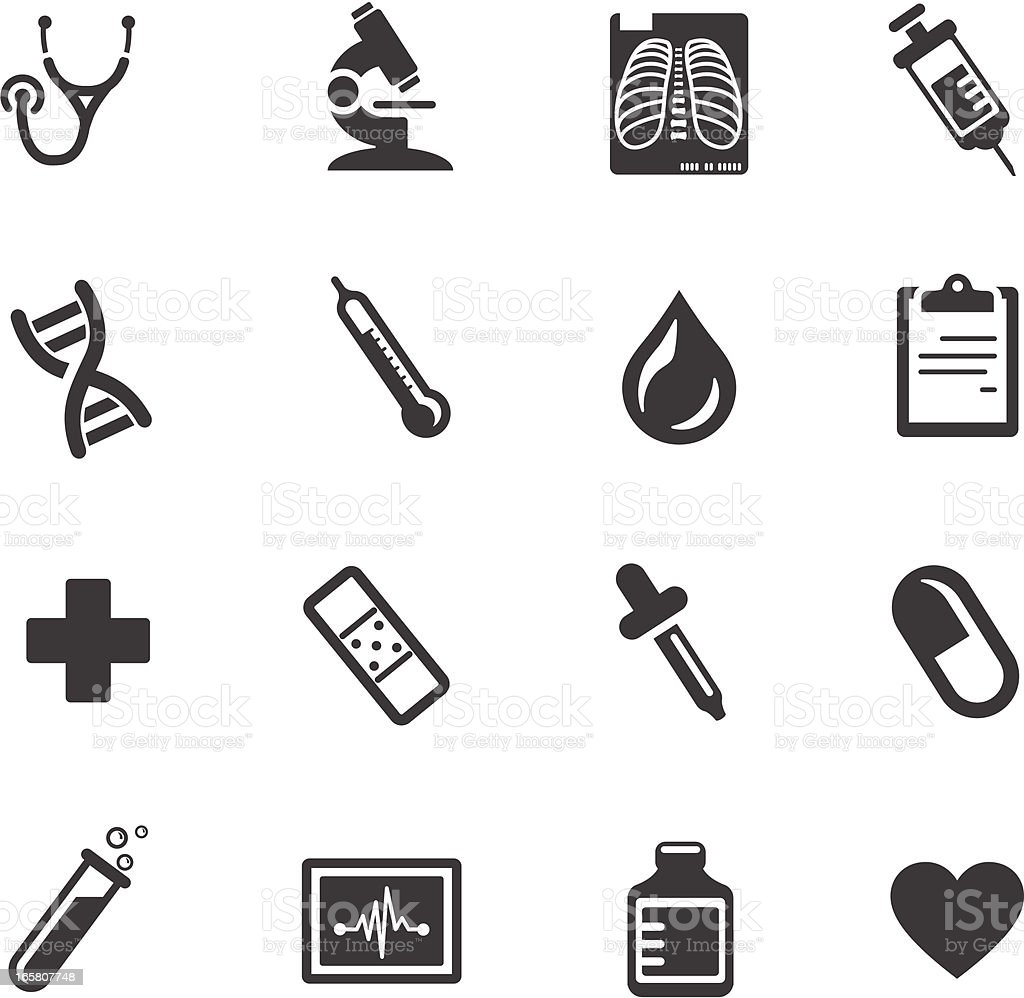 Medical And Healthcare Symbols Stock Vector Art More Images Of