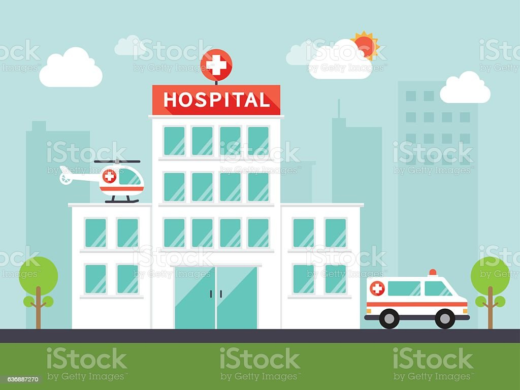 medical and hospital icons vector art illustration