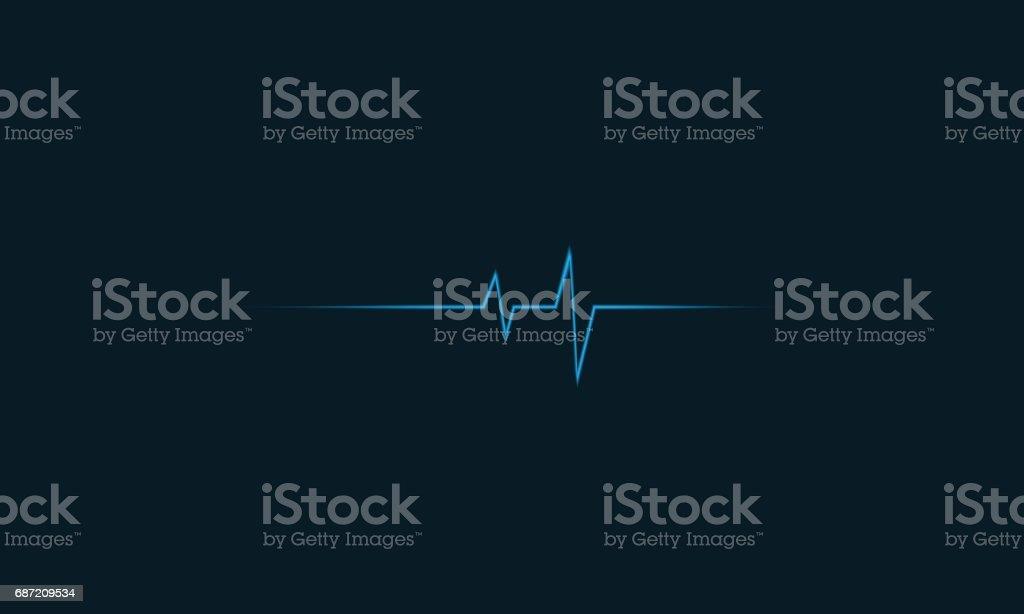 Medical background. vector art illustration