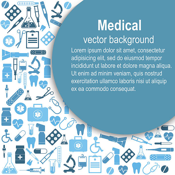 Medical background. Vector Illustration vector art illustration