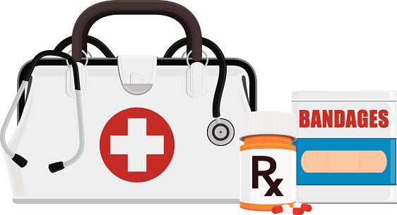 Medical Bag and Supplies
