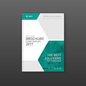 medical brochure cover template flyer design layout stock vector art