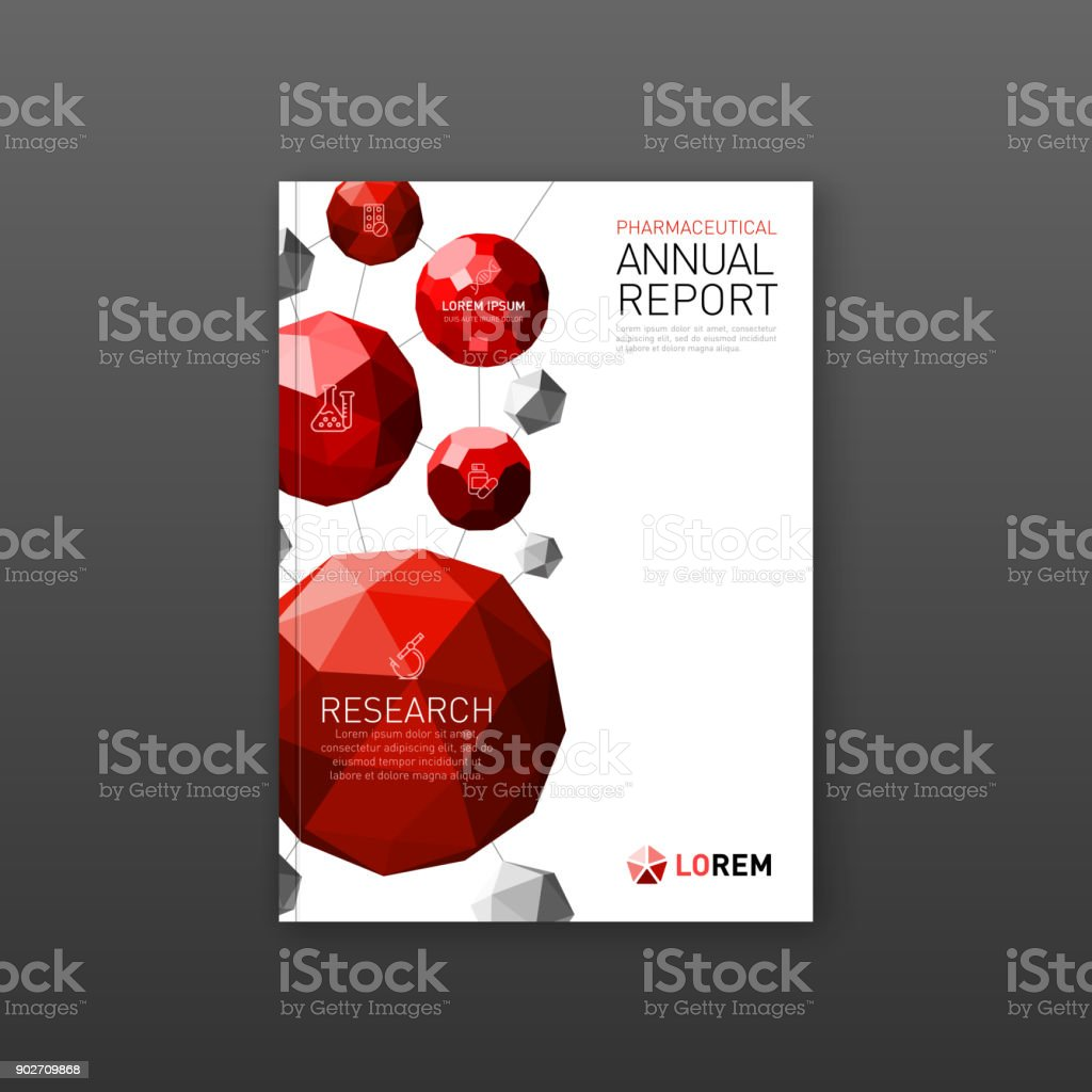 medical brochure cover template flyer layout stock vector art more