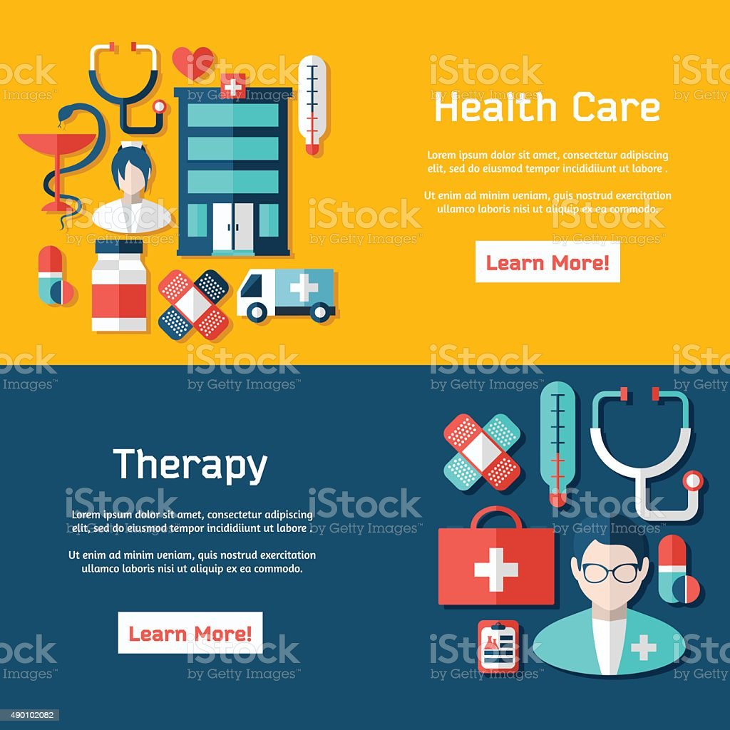 medical brochure template for web or print stock vector art more