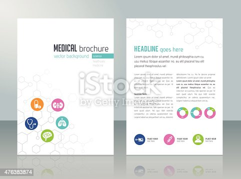 asthma brochure template - medical brochure template stock vector art more images