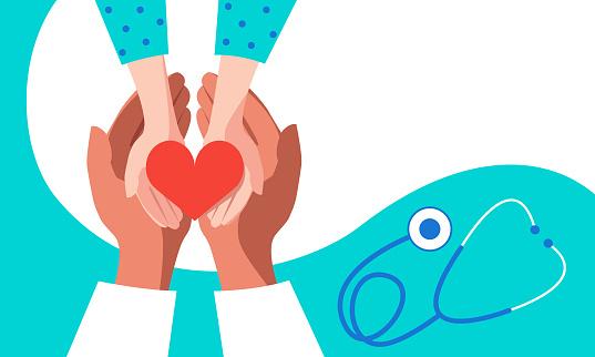 Medical care concept for children
