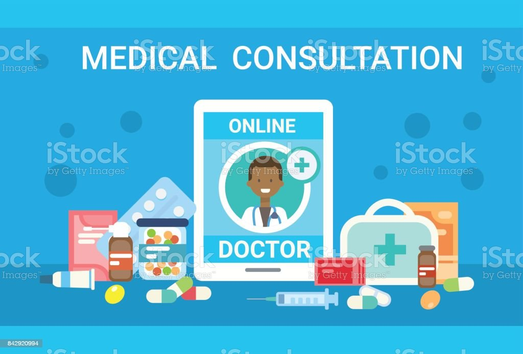 Doctor Consultation Banners Telecommunications Banners