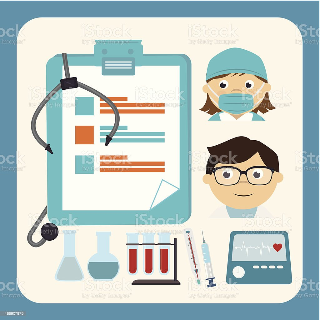 Medical design royalty-free stock vector art